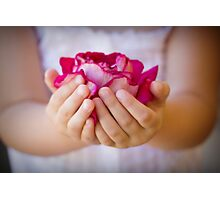 Gentle As A Rose Photographic Print