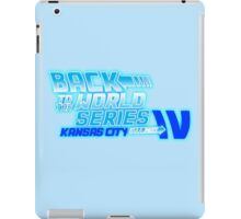 Back To The World Series!! iPad Case/Skin