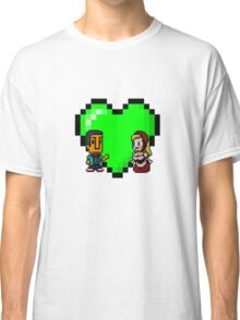 Love in 8-bit: Abed and Hilda (style A) Classic T-Shirt
