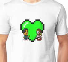 Love in 8-bit: Abed and Hilda (style A) Unisex T-Shirt