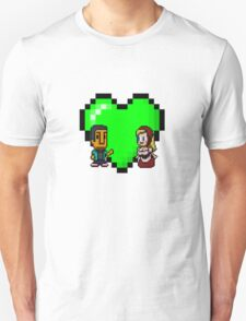 Love in 8-bit: Abed and Hilda (style A) T-Shirt