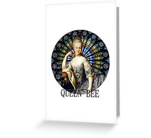 Queen of the French Greeting Card