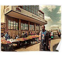 Apple Market Poster