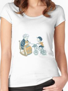 She Creates What I Dream Of Women's Fitted Scoop T-Shirt