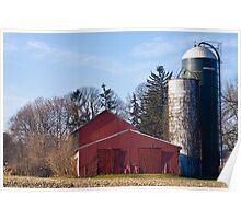 Corner Farm Poster