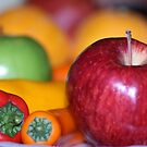 fruits and veggies by ANNABEL   S. ALENTON