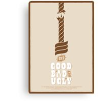 The Good, the Bad and the Ugly Custom Poster Canvas Print