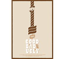 The Good, the Bad and the Ugly Custom Poster Photographic Print