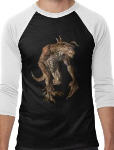 Pixel Deathclaw Men's Baseball ¾ T-Shirt