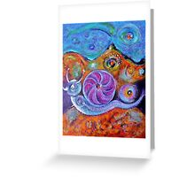 Let's Say a Snail Greeting Card