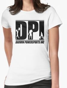 DPI Logo - Black Womens Fitted T-Shirt