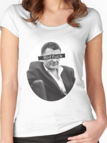Moffuck Women's Fitted Scoop T-Shirt