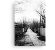 Melrose Lane Canvas Print