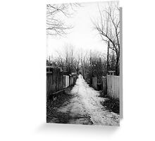 Melrose Lane Greeting Card