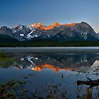 Lower Kananaskis Lake by Peter Luxem