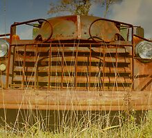 Rusty Chevrolet Truck   East Moriches, New York  by © Sophie W. Smith