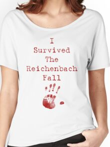 I Survived The Reichenbach Fall Women's Relaxed Fit T-Shirt
