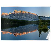 Mt Rundle 2 Poster