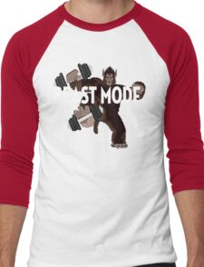 Beast Mode Men's Baseball ¾ T-Shirt