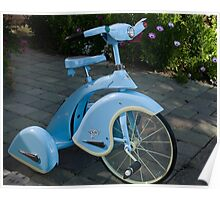 Blue Trike Poster