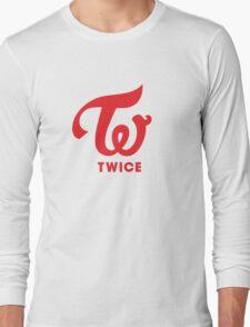Twice Logo Long Sleeve T-Shirt