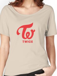 Twice Logo Women's Relaxed Fit T-Shirt