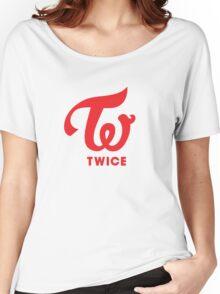 Twice Logo Women's Relaxed Fit T-Shirt