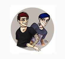 Punk Dan and Phil Unisex T-Shirt