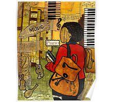 Urban Music Student Poster