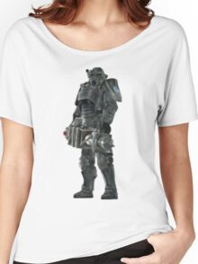 Pixel Brother of Steel Paladin Women's Relaxed Fit T-Shirt