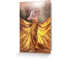 Who's That Girl.. Greeting Card