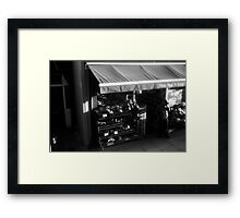 LONDON: VIEWS FROM THE TOP DECK PT 13: WELCOME Framed Print