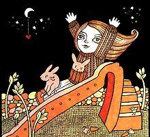 Rhonas Rabbits by Anita Inverarity