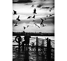 bird woman.. Photographic Print