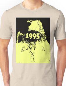 1995 Yellow, black retro vintage T-shirt Unisex T-Shirt