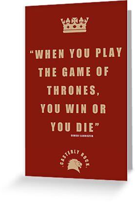 Lannister Quote 2 by liquidsouldes