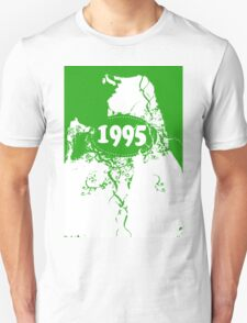 1995 Green, white retro vintage T-shirt T-Shirt