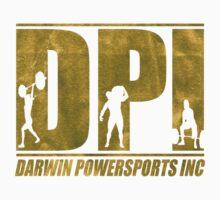 DPI Logo - Faux Gold Foil One Piece - Short Sleeve