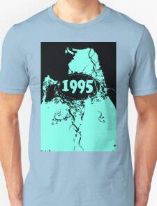 1995 Blue, black retro vintage T-shirt T-Shirt