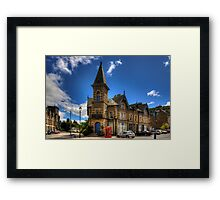Tower Buildings Framed Print