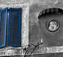Blues in Campagnano-Italy by Deborah Downes