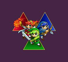 Zelda Triforce Heroes Three Links Unisex T-Shirt