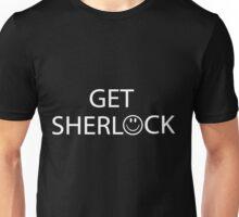 Get Sherlock! (Black) Unisex T-Shirt