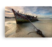 Ship Wreck Canvas Print