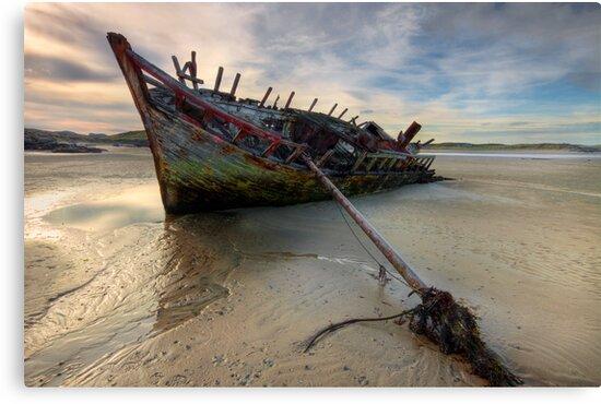 Ship Wreck by Derek Smyth