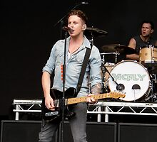 Danny Jones [McFly]; Live Print. 13th August 2011. by Nicky Jones