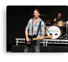 Danny Jones [McFly]; Live Print. 13th August 2011. Canvas Print