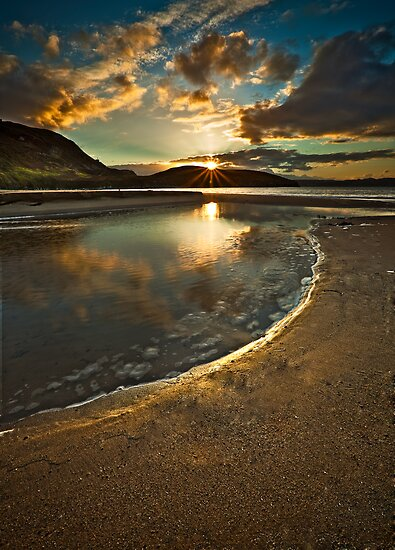 Dunree Sunset by Derek Smyth