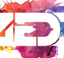 Zedd | Logo | Watercolor Sticker