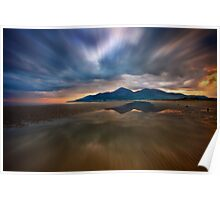 Murlough Bay Sunset Poster